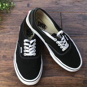 VANS Classic Black Sneakers size 8.5 woman (7 men)